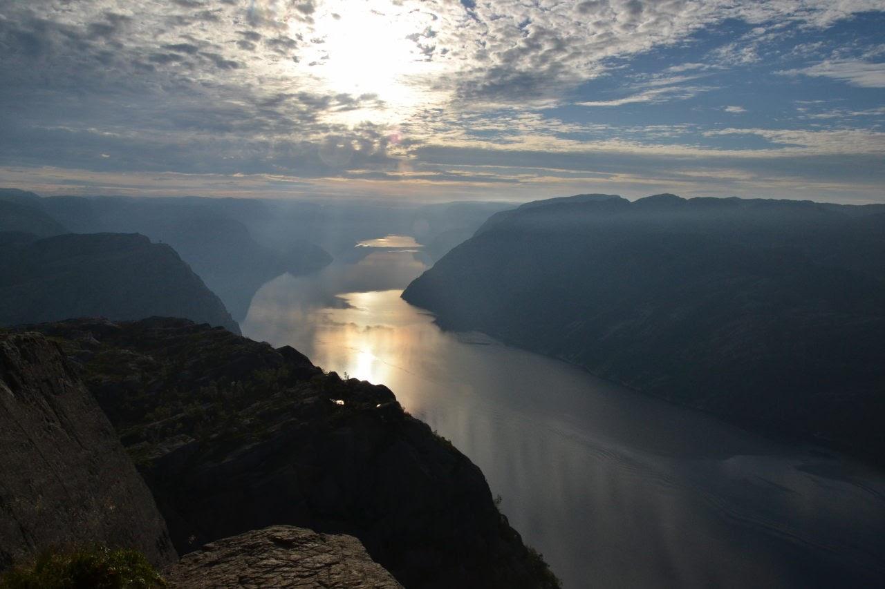 Lysefjord from Preikestolen